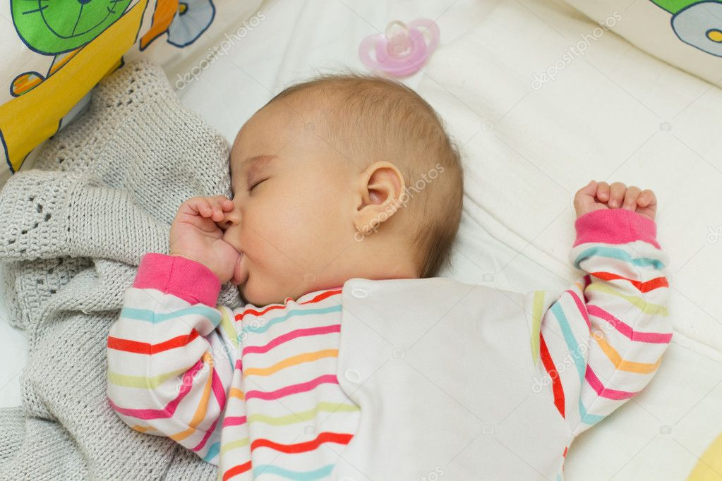 Cute Babies Sleeping Images: Stock Photo © MitaStockImages