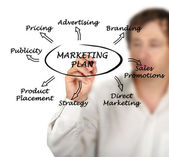 Präsentation der marketing-Strategie