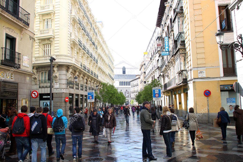 Calle De Arenal Redaktionelles Stockfoto Vaximilian 10941253