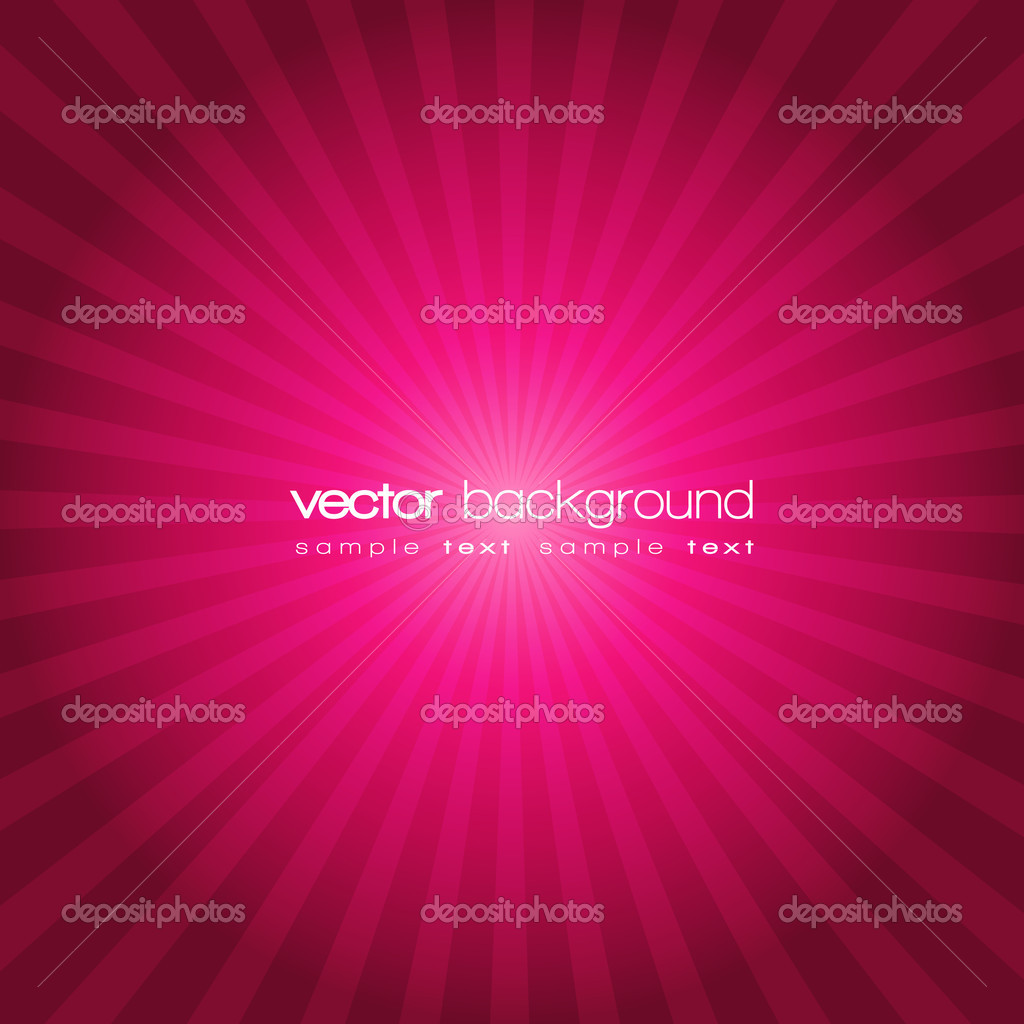 Purple sunset vector background with text