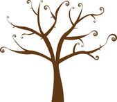 krásná vektorovou květinové strom