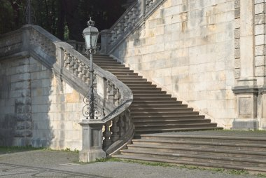 Friedensengel Staircase in Munich