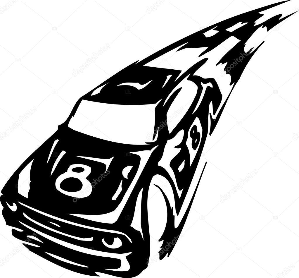 race car vector illustration stock vector digital clipart rh depositphotos com race car vector clip art race car vector clip art