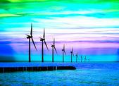Fotografie Blue Energiemacht