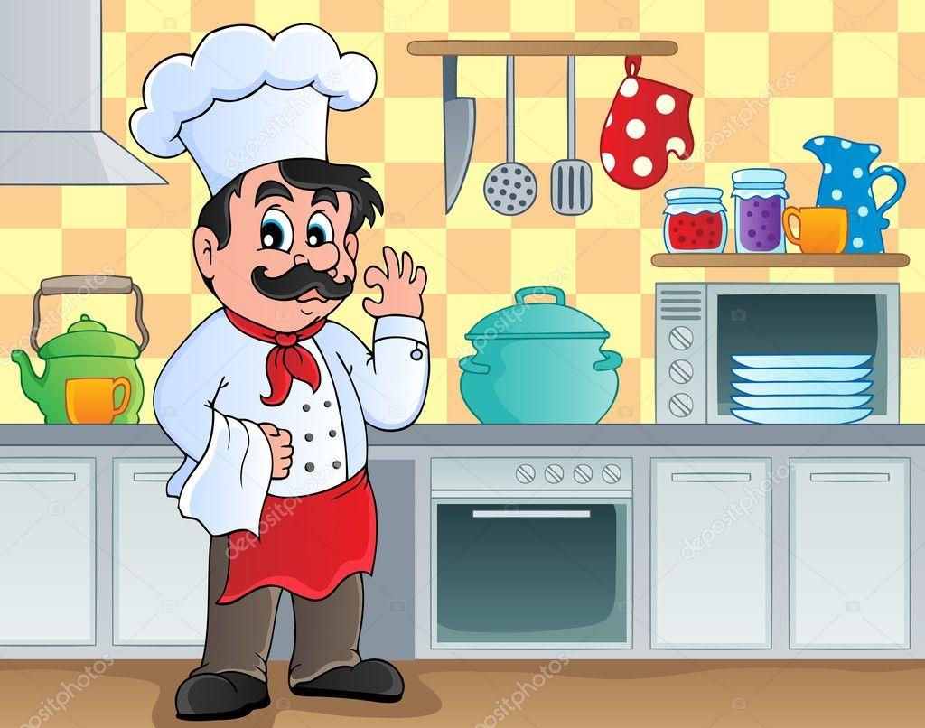 Kitchen theme image 2 — Stock Vector © clairev #12202652