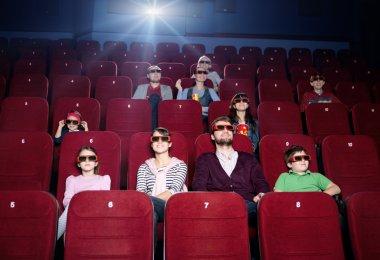 Enjoying the movie