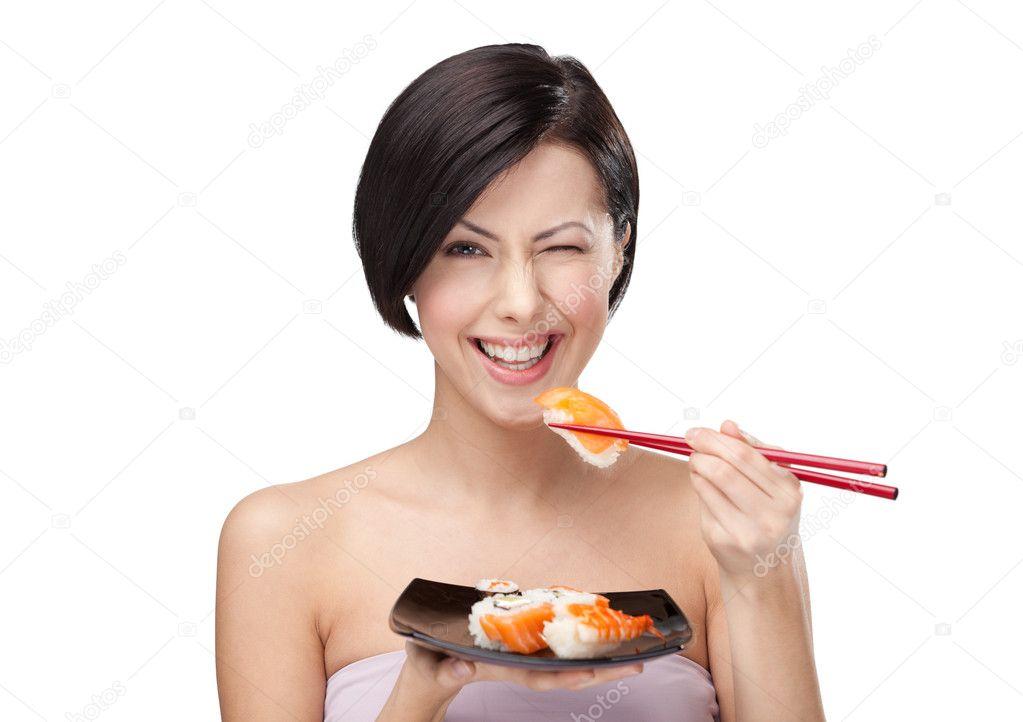 Можно ли есть суши во время диеты
