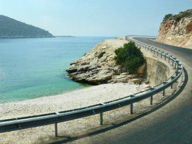 Turn of Mountain Road