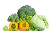 hromada čerstvé zeleniny