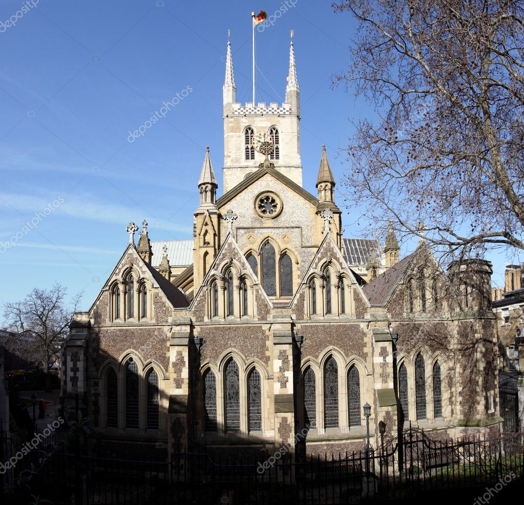 Southwark Cathedral — Stock Photo © AlexKosev #11835995
