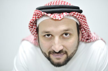 Portrait of Middle Eastern adult man