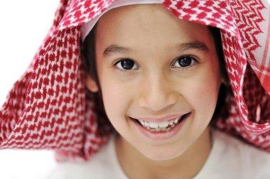 Arabic Muslim child portrait