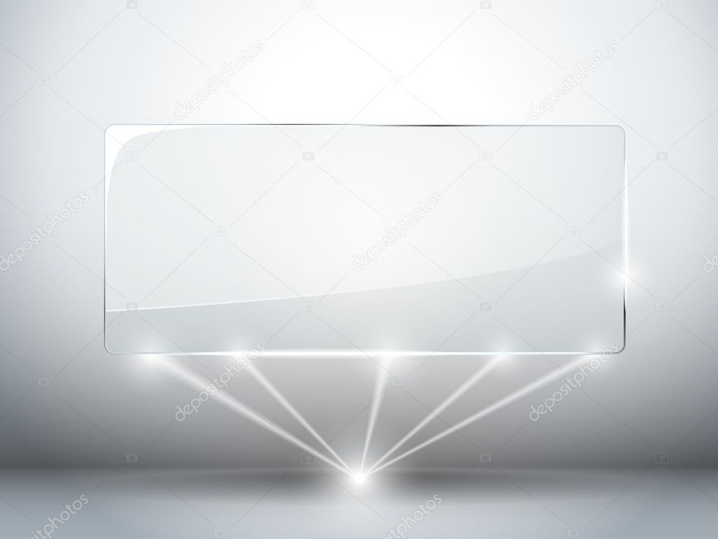 Glazen plaat achtergrond met lasers stockvector gubh83 for Glazen plaat