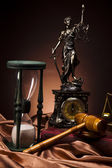 Fotografie Antique statue of justice, law