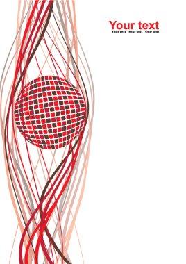 Abstract ball blank