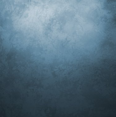 Dark blue grunge old paper vintage retro style background