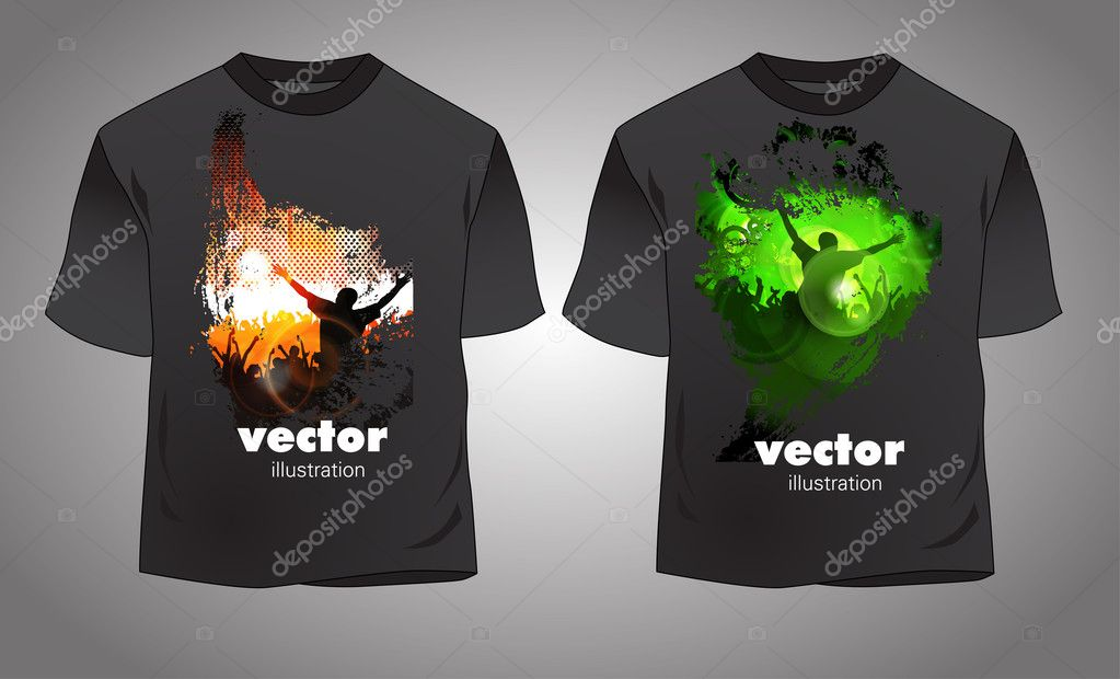 Vector. T-shirt design