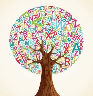 School education concept tree
