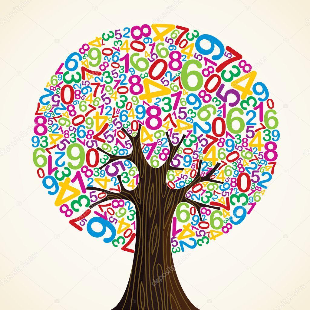 School education concept tree