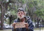 Fotografie Homeless man