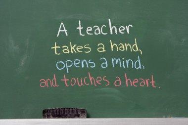 Inspirational phrase for teacher appreciation