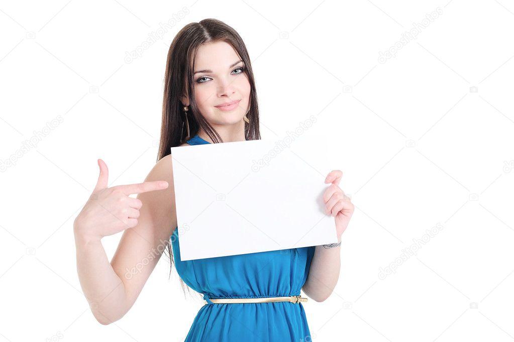 фото как девушка держит слова дин чем-то разговаривали