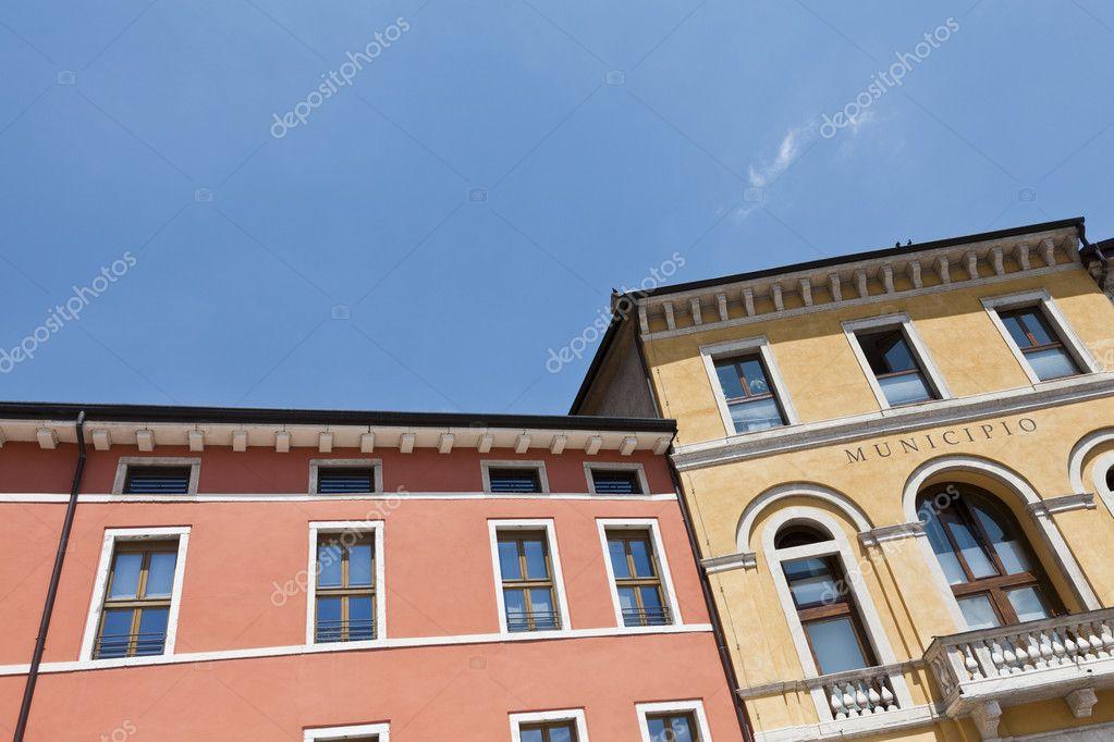 Classic italian house stock photo gemenacom 12098972 for Classic italian house