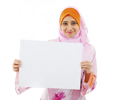 Blank card board ready for text