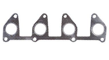 Metallic automotive exhaust manifold gasket