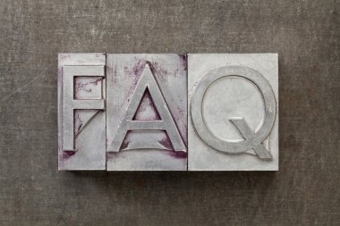 Frequently asked question - FAQ