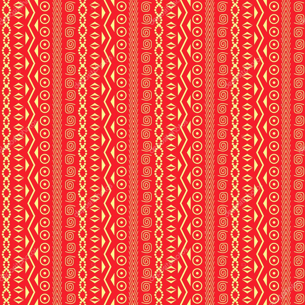 Abstract African Native Seamless Pattern
