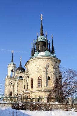 White stone gothic church