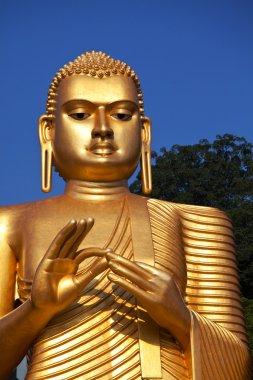 Buddhas statue on Sri Lanka