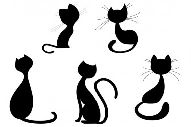 Cats shapes