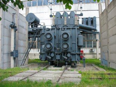 Huge industrial high-voltage substation power transformer