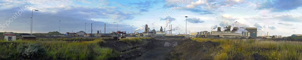 Steelworks panorama