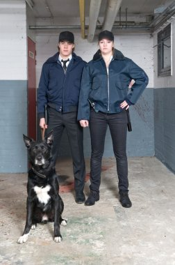 K9 squad police officers