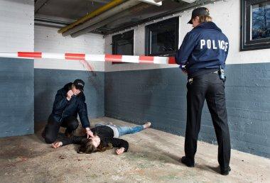 Crime Scene perimeter