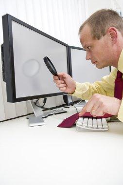 Analyzing computer data