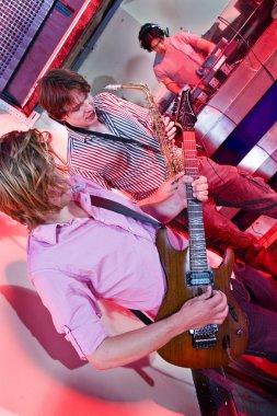 Guitar, Sax and DJ