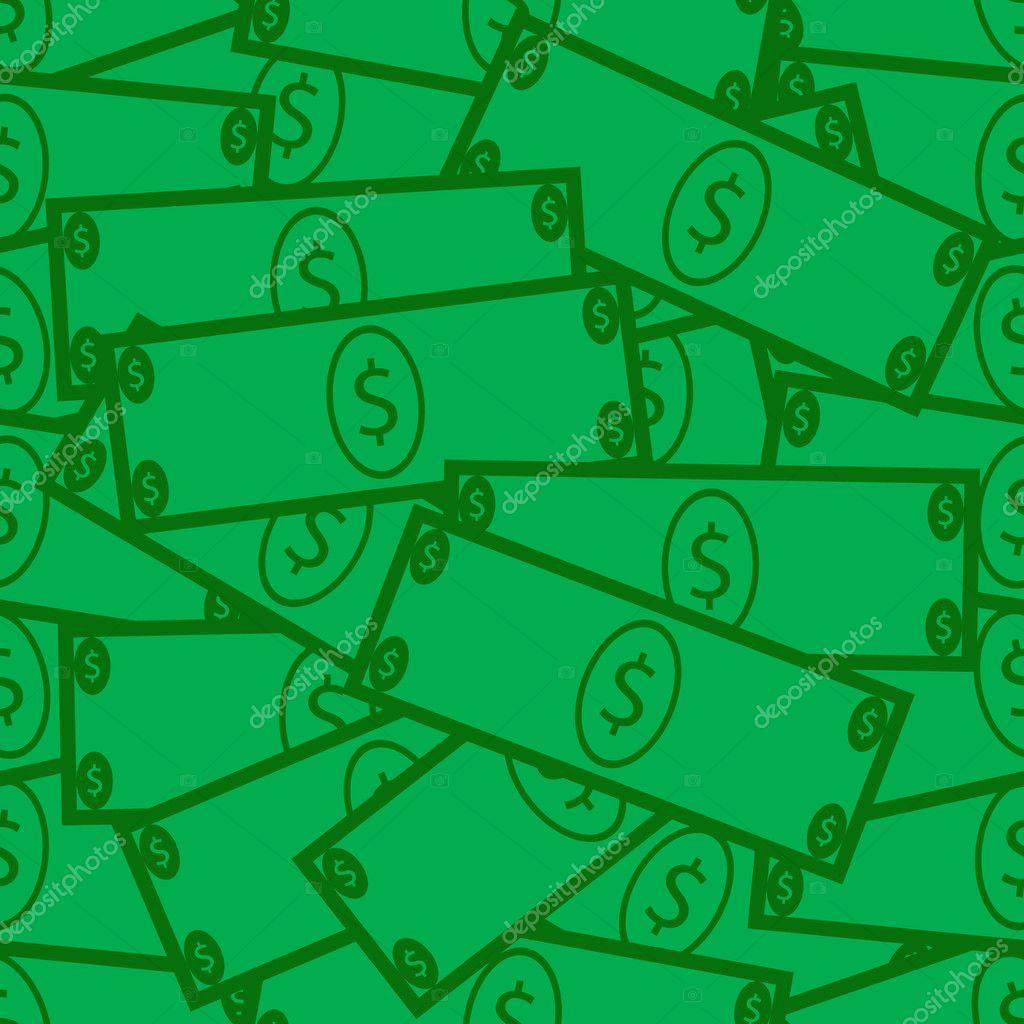 Seamless Dollar Bill Background Stock Vector C Apotterdd 11026646