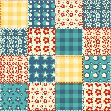 Quilt seamless pattern 3
