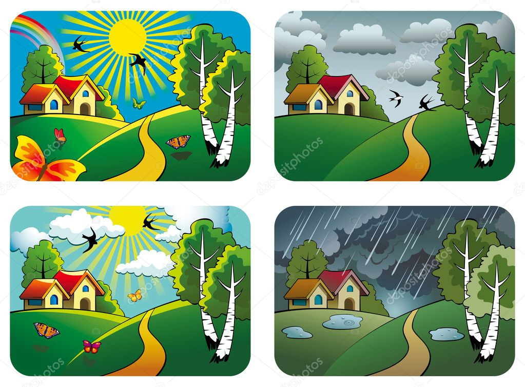 Weather landscapes