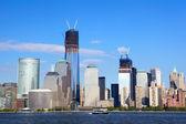 světové finanční centrum Panorama v Manhattanu
