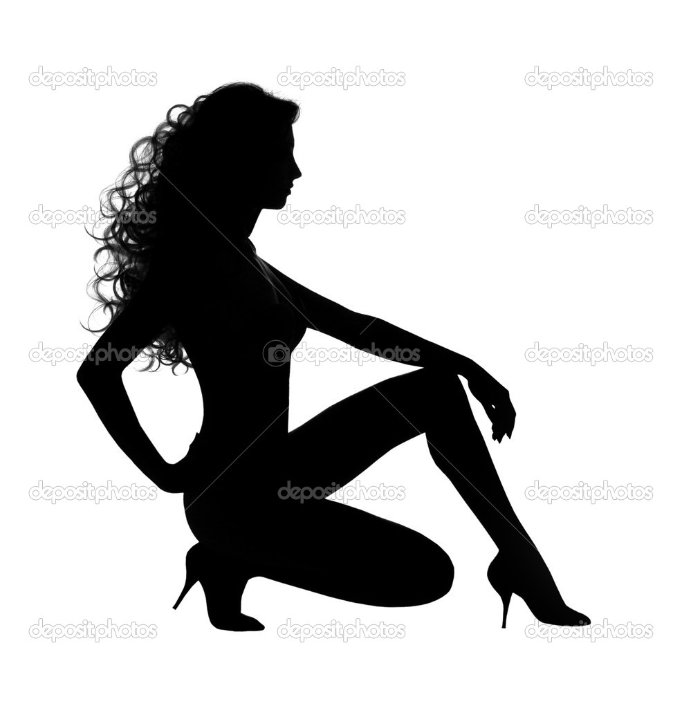 Sexy Woman Silhouette Images & Stock Pictures