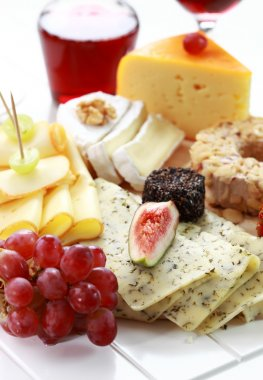 Catering cheese platter