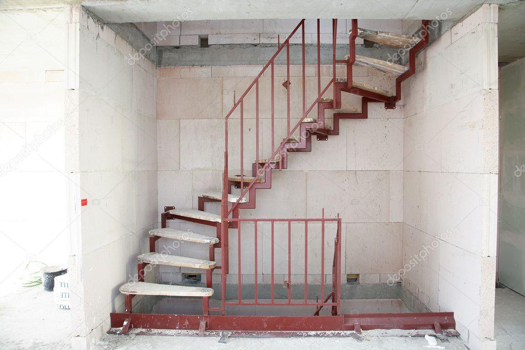 lépcső építés — Stock Fotó © brebca #11445575