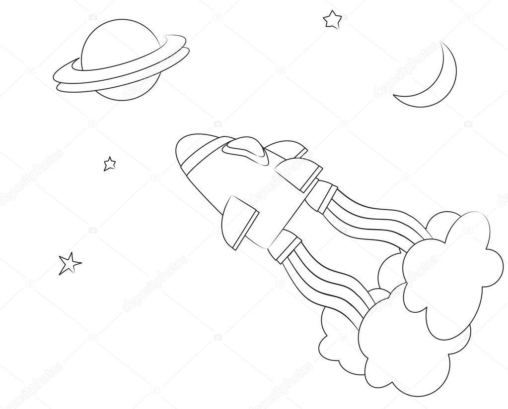Uzay Boyama Sayfasi Bahattinteymuriom