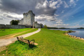Photo Empty bench at Ross Castle