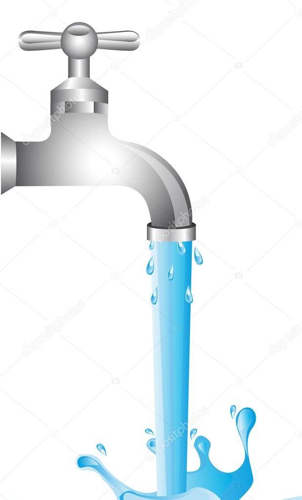 Llave agua vector de stock yupiramos 11349435 for Imagenes de llaves de agua